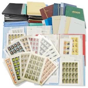 40冊以上のスタンプブックに入った大量の切手買取