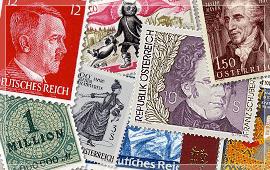 ヨーロッパ系の切手
