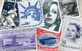 アメリカ系の切手