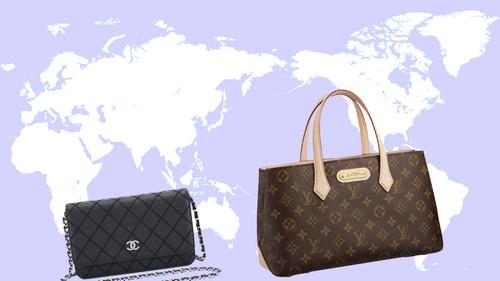 日本は世界第2位の高級ブランド品市場