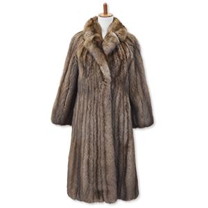 ロシアンセーブルの毛皮コート買取