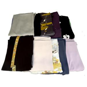 着物10着の中に未着用の作家物を含む状態の良い着物で