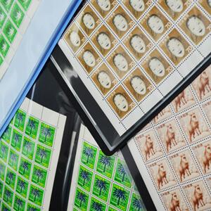 家族で集めた大量の切手を買取
