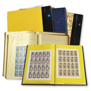 スタンプブックに入った大量の切手買取