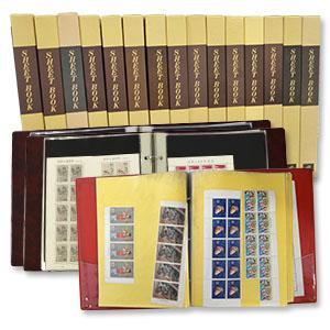 ご祖父様から譲り受けた18冊もの切手ブックを高価買取