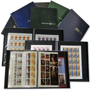 大量のスタンプブックに入った切手買取