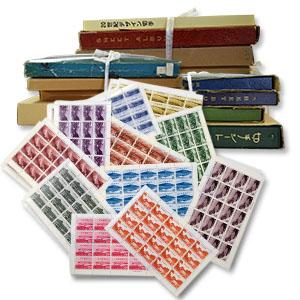 多種多様な大量の切手買取