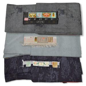 本場結城紬、本場大島紬、牛首紬など全て証紙付