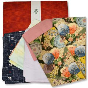 大場松魚の袋帯を含む着物類買取