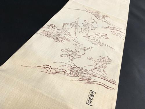 まるで絵画!絣の巨匠・恵積五郎の着物を高く買取してもらうには?