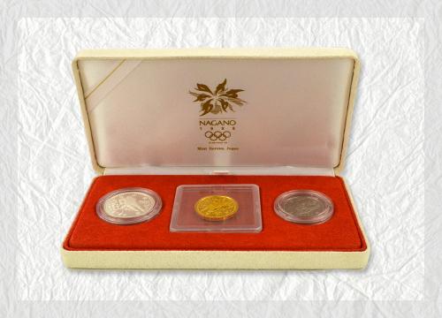 長野オリンピック記念硬貨の買取相場と記念硬貨を高く売るコツ
