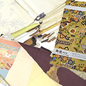 作家物の着物と帯の買取