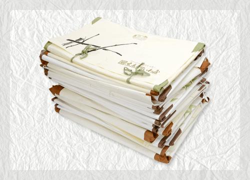 【着物通信no.10】たとう紙の正しい使い方と有名呉服店のたとう紙の価値
