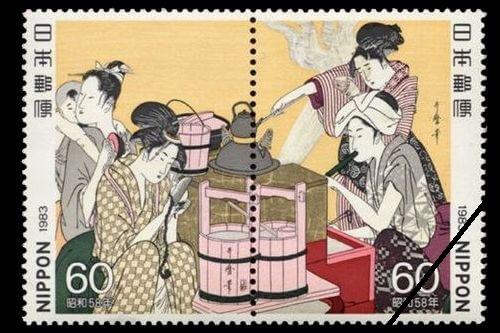 浮世絵切手の種類と買取相場を一挙公開!使い道はある?