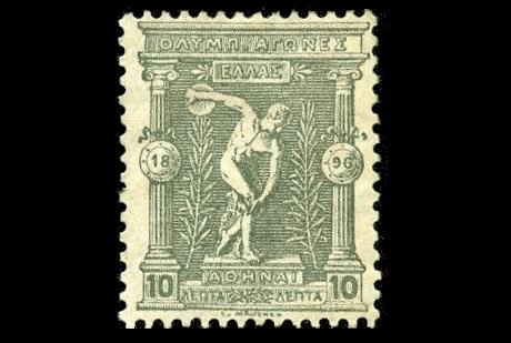オリンピック切手】100年以上前...